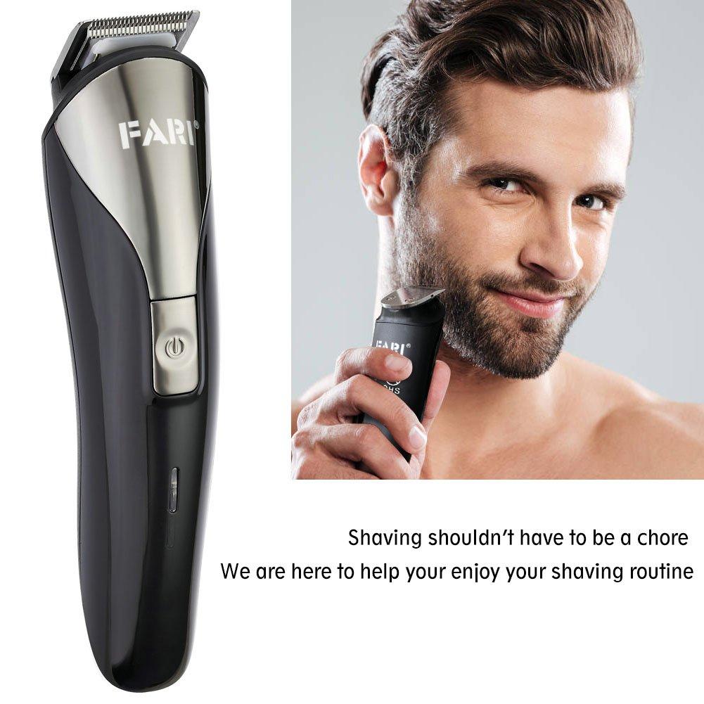 Beard Trimmer Kit for Men, Cordless Hair Trimmer Mustache Trimmer Body Grommer Clippers
