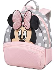 SAMSONITE Disney Ultimate 2.0 - Backpack Small Zainetto per bambini, 28 cm, 7 liters, Multicolore (Minnie Glitter)