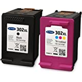 Ink Trader 302XL Black & Colour Ink Cartridges for HP Deskjet 3630 Printers