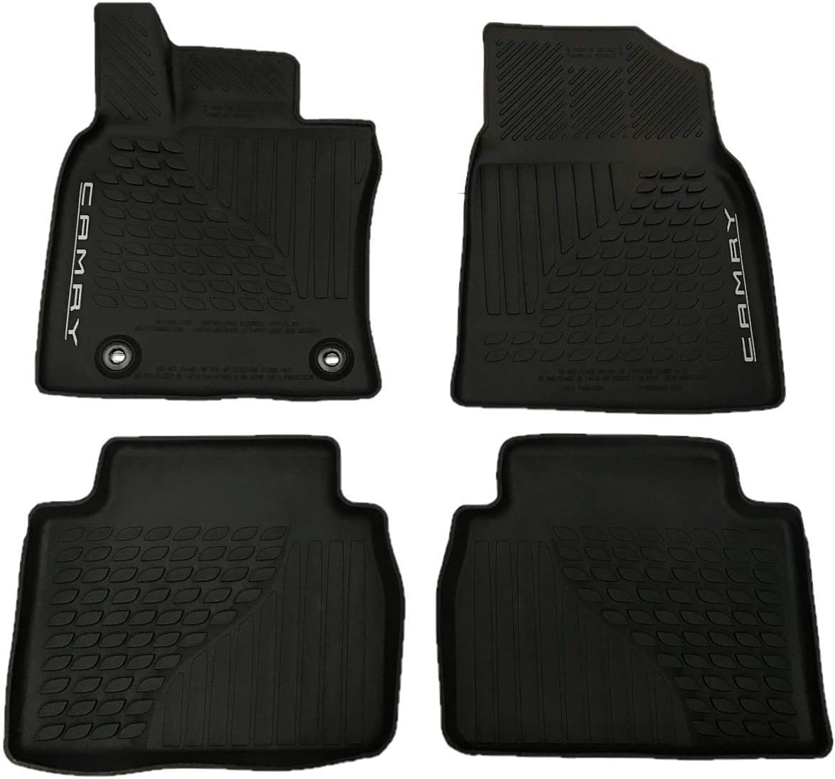 2018 TOYOTA CAMRY LE//XLE//SE//XSE ALL WEATHER FLOOR MATS//LINERS  PT908-03180-20