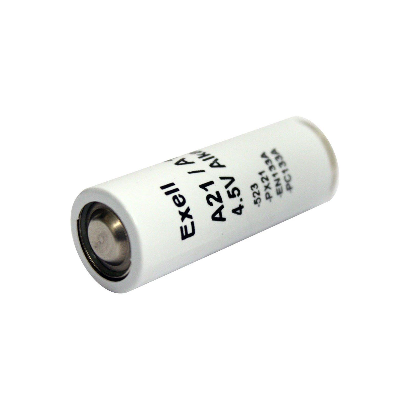 Exell Battery A21PX 4.5-Volt Alkaline Battery (White)
