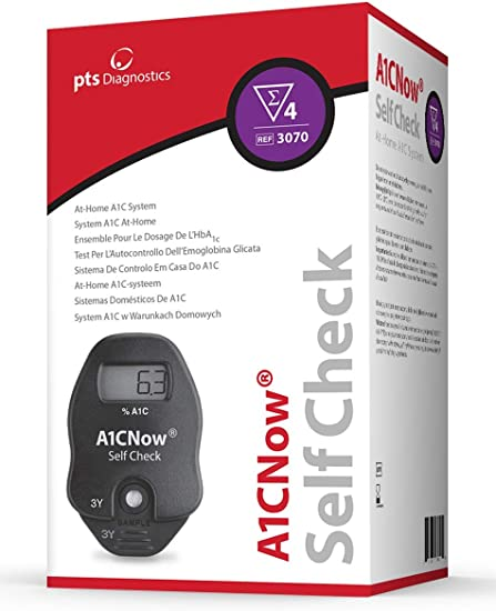 A1CNow SELF CHECK EN CASA SISTEMA HbA1c: Amazon.es: Salud y cuidado personal