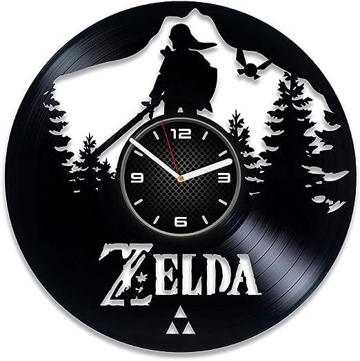 Amazon.com: DecorStudioUA La leyenda de Zelda reloj Zelda ...