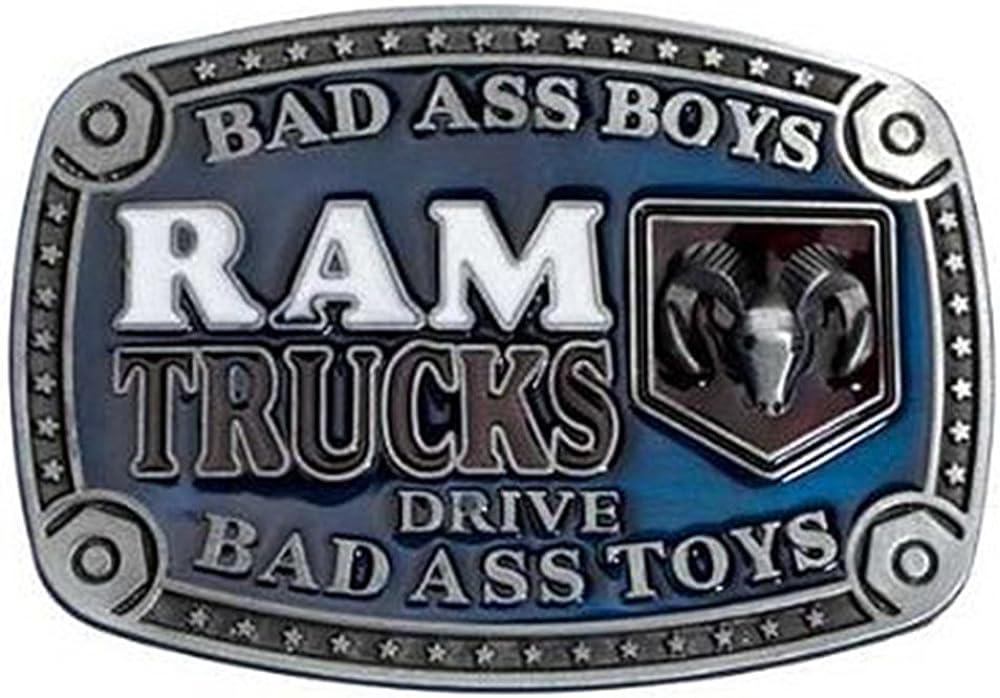 boucle de ceinture Bad Ass Toy Boucle camions Dodge Ram pick-up