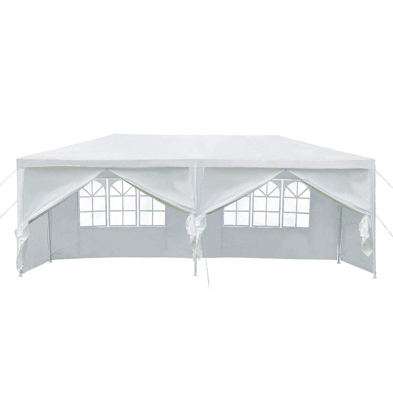 Camping Carpa de jard/ín Resistente para Bodas 3 x 3 m con 4 Paneles Laterales Exteriores Playa 3 x 6 m AutoBaBa All Seasons 3 x 4 m Resistente al Agua