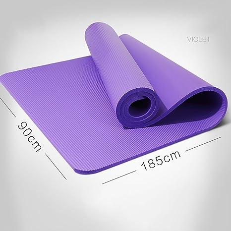LQBDJYJD - Colchoneta de Yoga, Color Morado: Amazon.es: Hogar