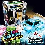 Mindscope Twister Tracks Chameleon Color Capture (Color Sensing/Detecting) Racer with 12' Feet of Flexible Standard Color Track