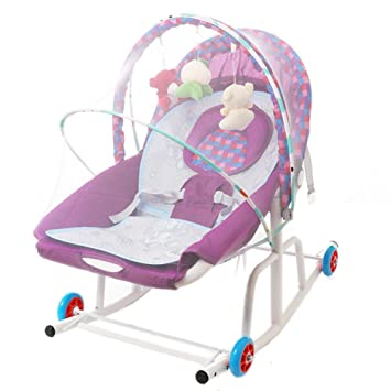 e336e529a Amazon.com   NMPA- Children s Recliner Baby Bouncers Balance Cradle ...