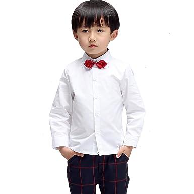 6371017924578 (モリハニ) Moli&Hani 子供 ワイシャツ シャツ チェック 柄 Yシャツ キッズ 結婚式 発表会