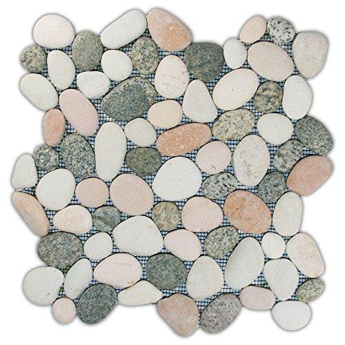 CNK Tile Mixed Island Pebble Tile 1 sq.ft