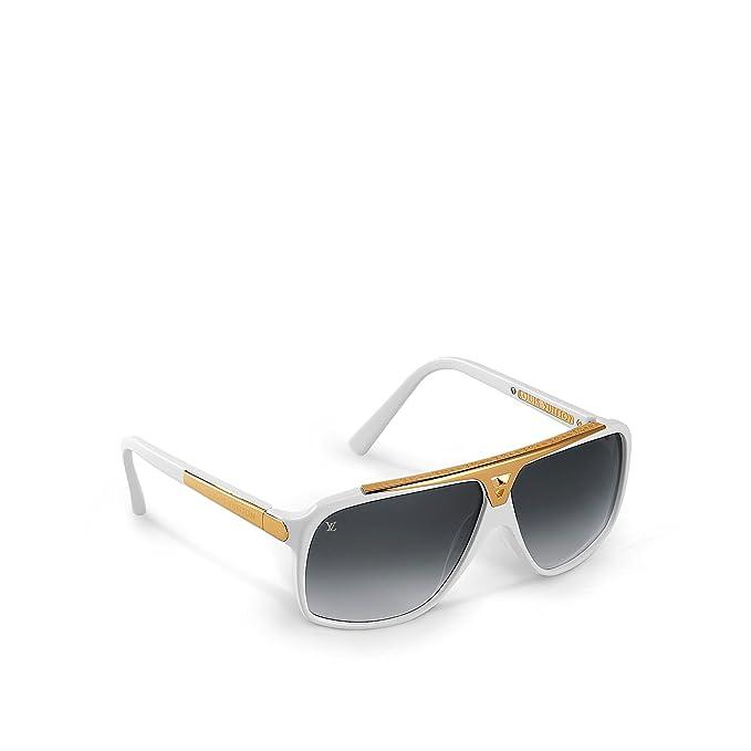 644404783d6 Louis Vuitton Evidence White Sunglasses Z0351W  Amazon.ca  Clothing    Accessories