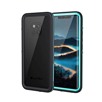 Lanhiem Funda Impermeable Huawei Mate 20 Pro, Carcasa Resistente Al Agua IP68 [Protección de 360 Grados], Carcasa para Mate 20 Pro Compatible con ...