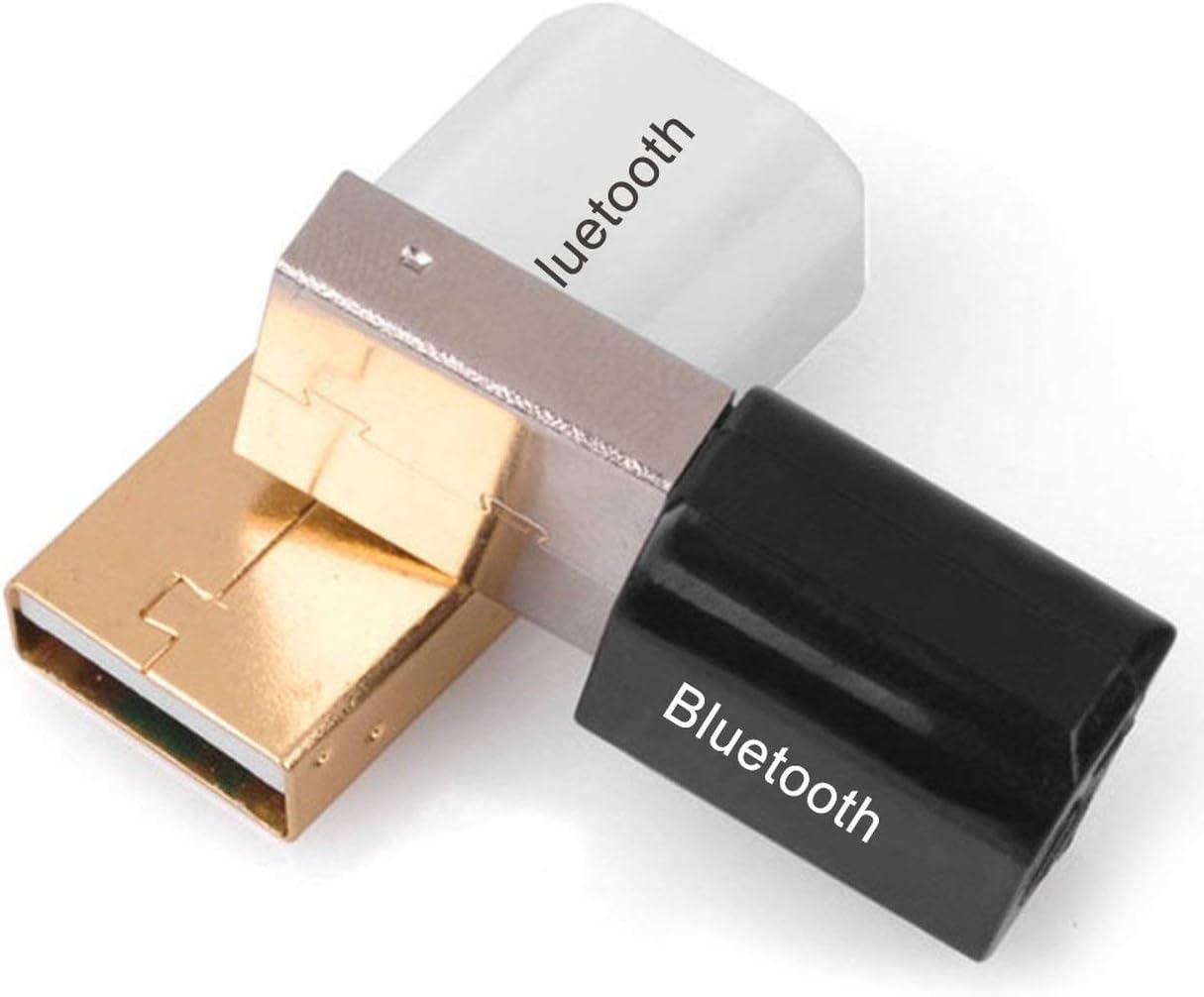 couleur: noir FHJZXDGHNXFGH Adaptateur Bluetooth mini USB V4.0 R/écepteur de musique son de dongle Bluetooth