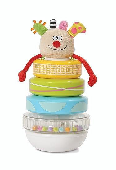 Amazon.com: Taf Toys Kooky apilador, bebé juguete de ...