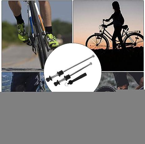 VGEBY1 Brocheta de liberación rápida para Bicicletas, antirrobo ...
