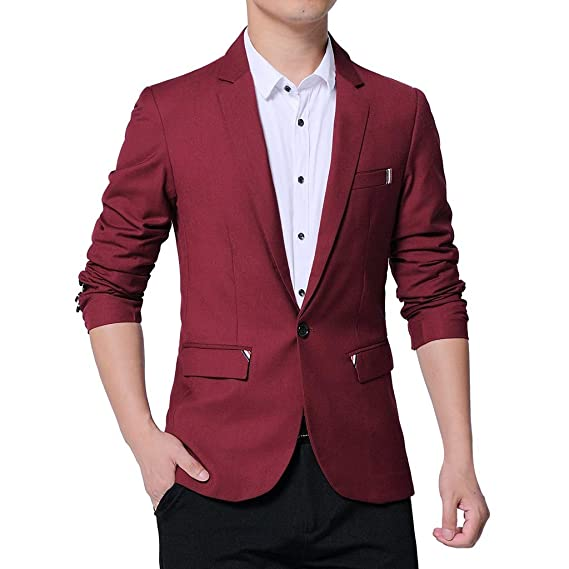 Vectry Hombre Mode One Button Suit For Self-Cultivation Pure ...
