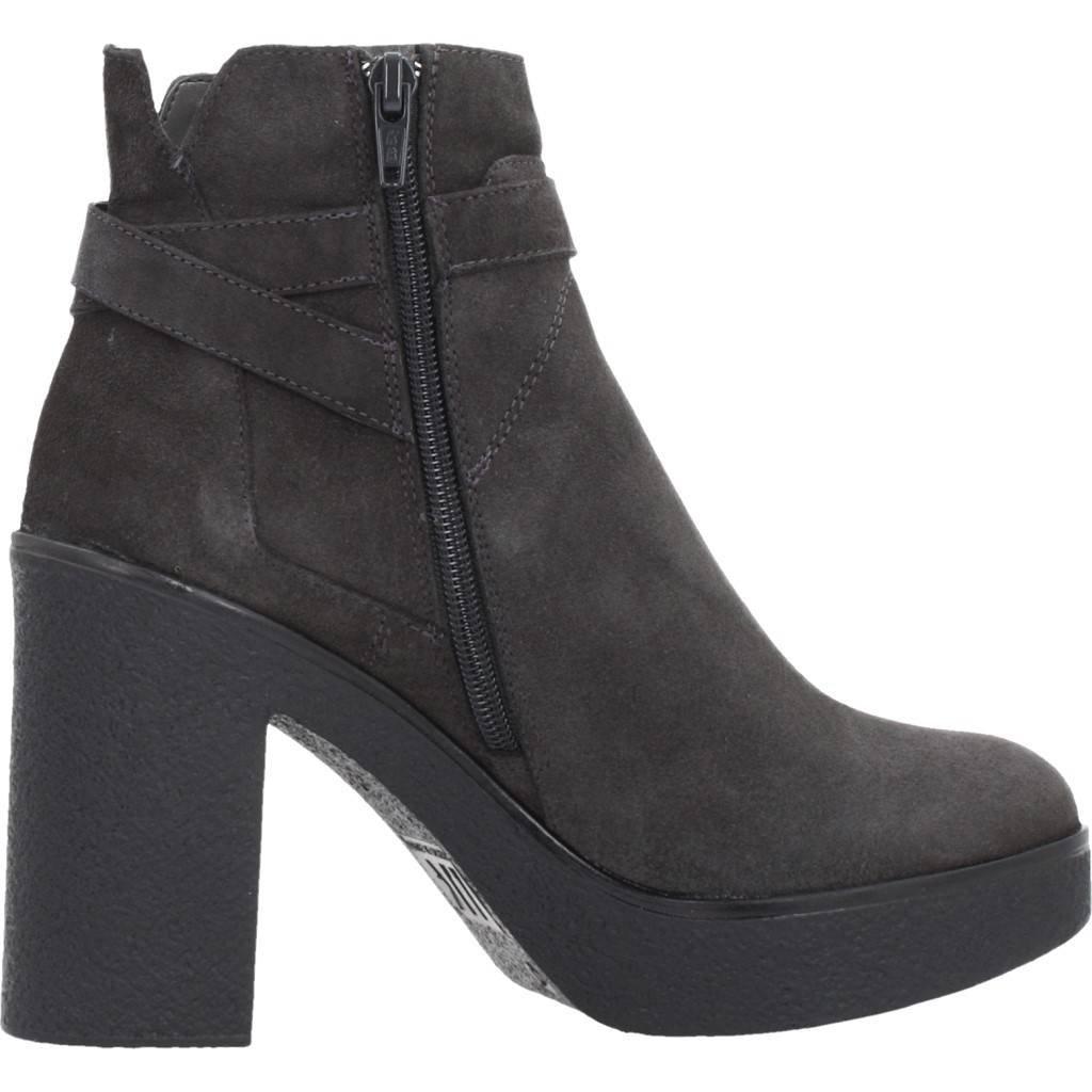 Lumberjack Stiefelleten Stiefel Damen, Farbe Grau, Marke, Modell Stiefelleten Stiefel Stiefel Stiefel Damen Janine Grau 7bf8f0