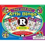 """Say and Do Articulation Bingo Sound Game Letter """"R"""" - Super Duper Educational Learning Toy for Kids"""