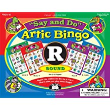 """Say and Do Artic Bingo Sound Game Letter """"R"""" - Super Duper Educational Learning Toy for Kids"""