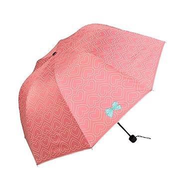 paraguas mujer sombrillas paraguas paraguas UV del sol súper paraguas sombrillas de sol sombrilla (Color