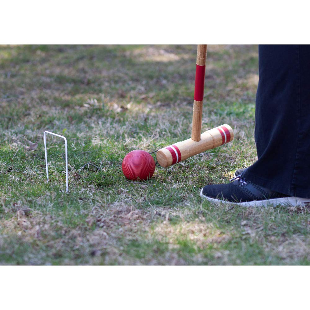 GSE Games & Sports Expert Premium 6-Player Croquet Set for Adults & Kids (Several Styles Available) (Deluxe) by GSE Games & Sports Expert (Image #5)