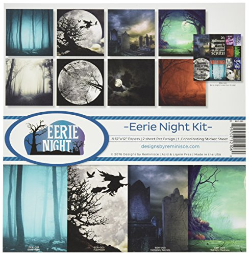 Reminisce Eerie Night Collection Kit -