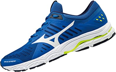 Mizuno Wave Stream, Zapatillas de Running para Hombre, Multicolor (Classicblue/White/safetyyellow 01), 44.5 EU: Amazon.es: Zapatos y complementos