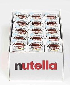 Nutella Chocolate Hazelnut Spread, Bulk for Food Service, 0.52 oz Single Serve Mini Cups, Count of 120