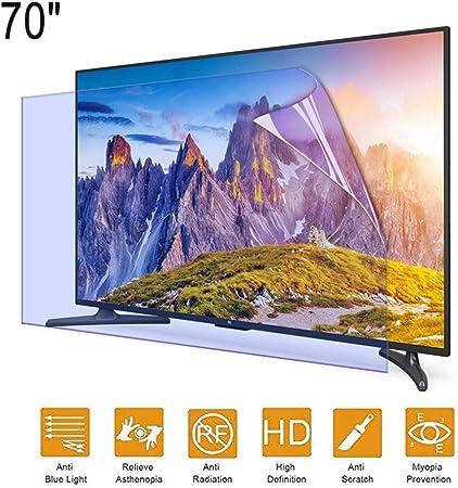 ZSLD Protector De Pantalla De TV Filtro De Luz Antirreflejos/Anti-Azul Proteja Sus Ojos, para HDTV LCD, LED, OLED Y QLED (70 Pulgadas 1538 * 869 Mm): Amazon.es: Hogar