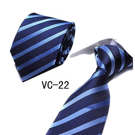 VGYUAS Corbata Corbatas A Cuadros para Hombre A Cuadros A Cuadros ...