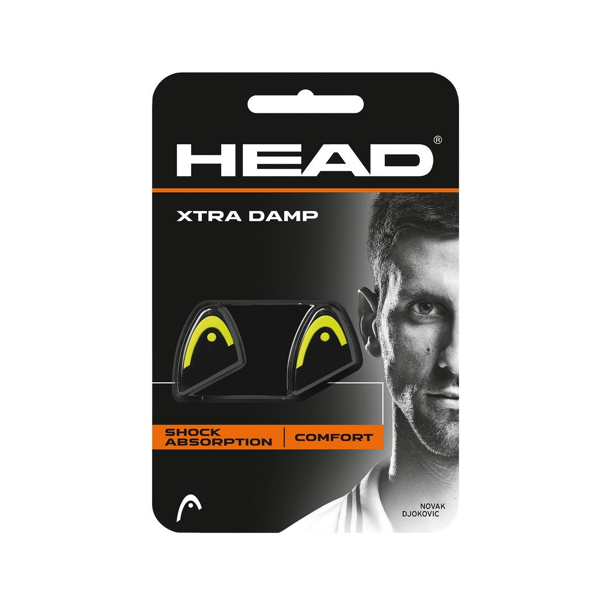 Head Xtra Damp 2-pack giallo antivibranti 285511