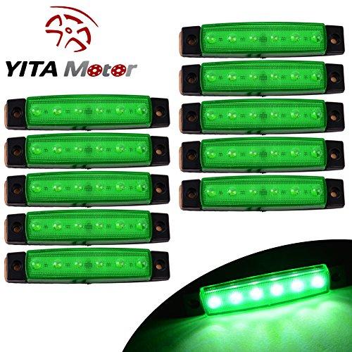 YITAMOTOR Marker Trailer lights lights green
