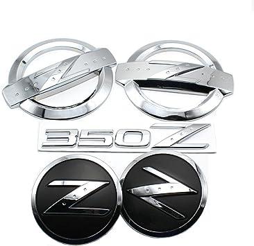 3D Chrome Z Car Front Body Emblem for 350Z 370Z Fairlady Z Z33 Z34
