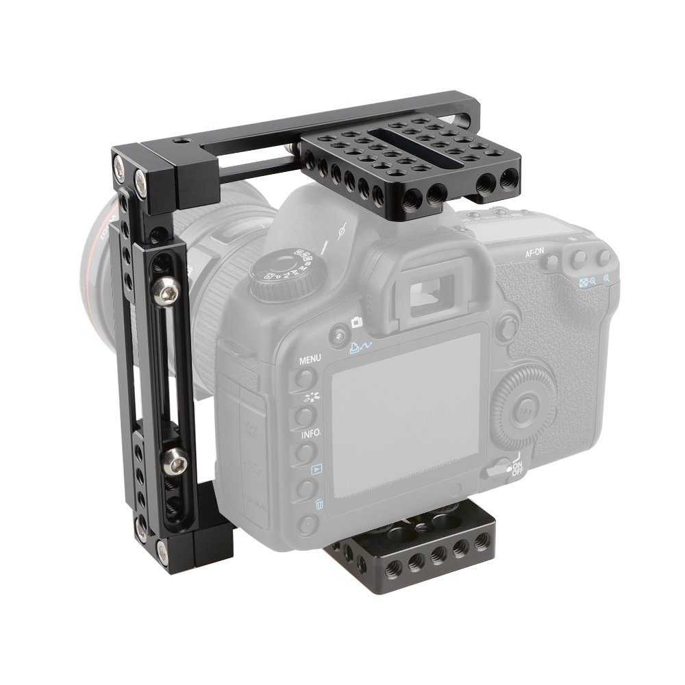 CAMVATE Adjustable Camera Cage Fit for Right Handle and Left Handle Camera(Basic) by CAMVATE