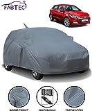 Fabtec Car Body Cover for Hyundai Elite i20 with Mirror Antenna Pocket (Heavy Duty)