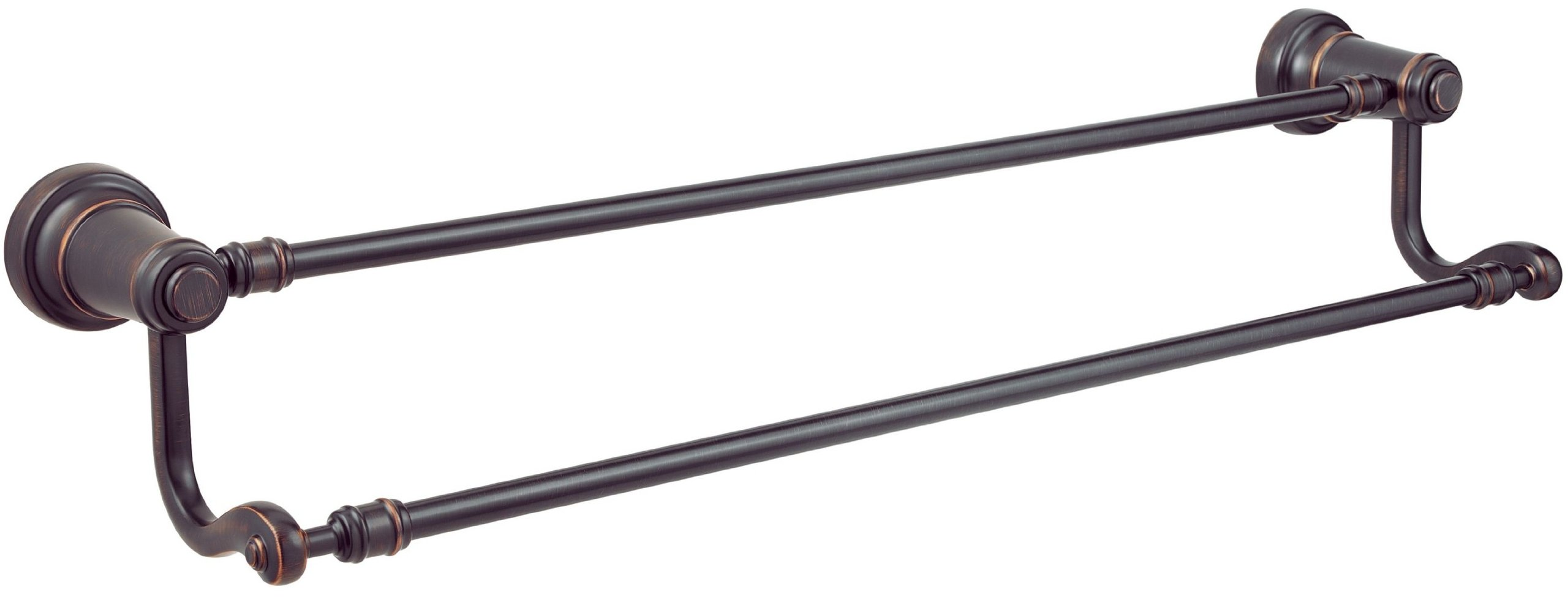 Pfister Ashfield 24'' Double Towel Bar, Tuscan Bronze by Pfister