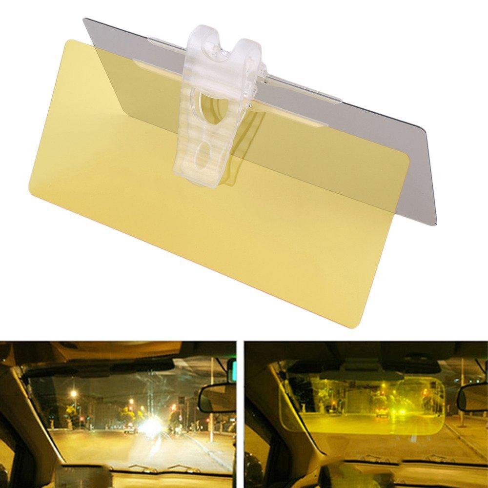 Follicomfy Car Auto Day & Night Anti-Dazzle Glaring Mirror Sun Visor Sunshade Goggles Blocks UV Rays Through Windshield, Protect Eyes & Drive Safety-1 PCS