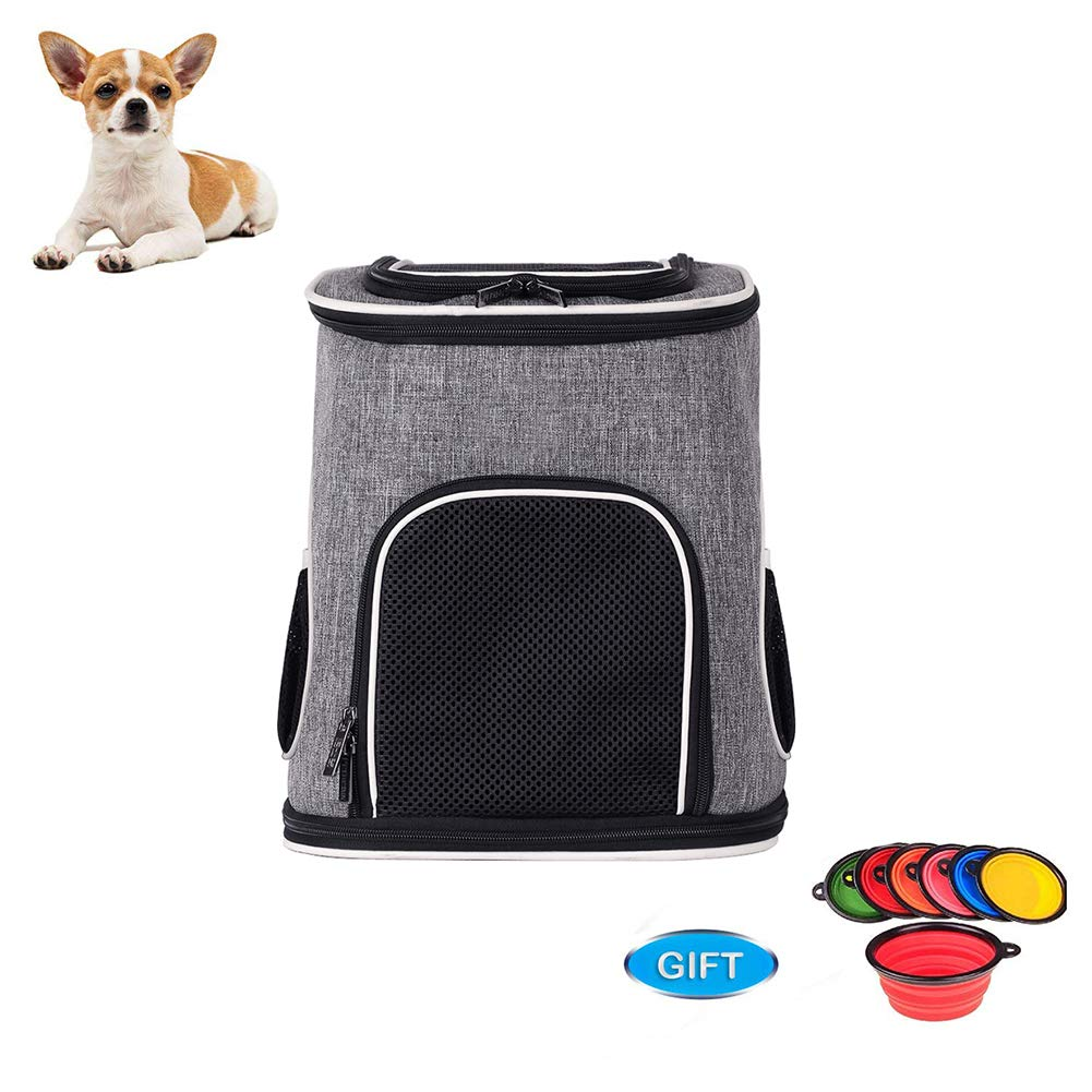 Pet Carrier, for Cats and Puppies, Fleece Mat, 32  28  40cm