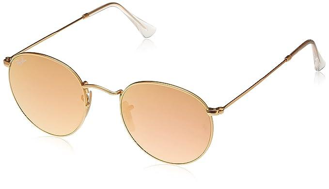 9c11173c7c Ray-Ban Round Sunglasses (Matte Gold) (RB3447