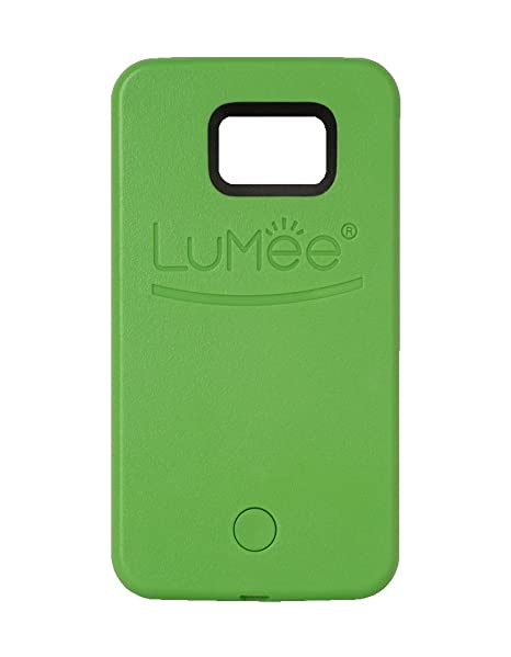 new concept e7471 406ce LuMee, Illuminated Cell Phone Case for Samsung Galaxy S6 - Lime Green