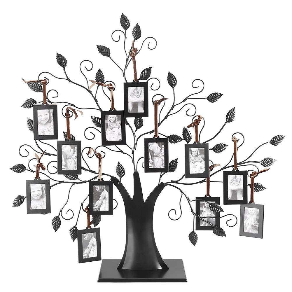 Photo Tree-Fashionable Family Photos Frame Display Tree with Hanging Pictures Frames Home Decor