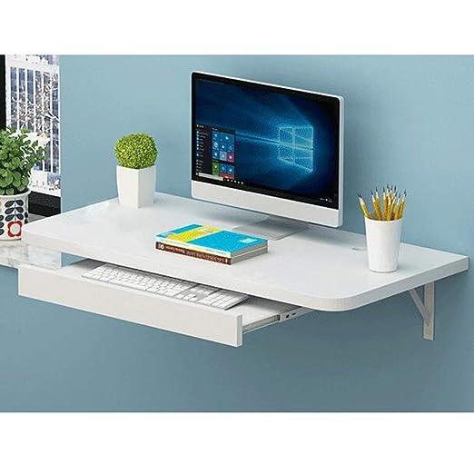 BAIF Mesa Plegable Mesa de sobremesa Computadora de Escritorio de ...