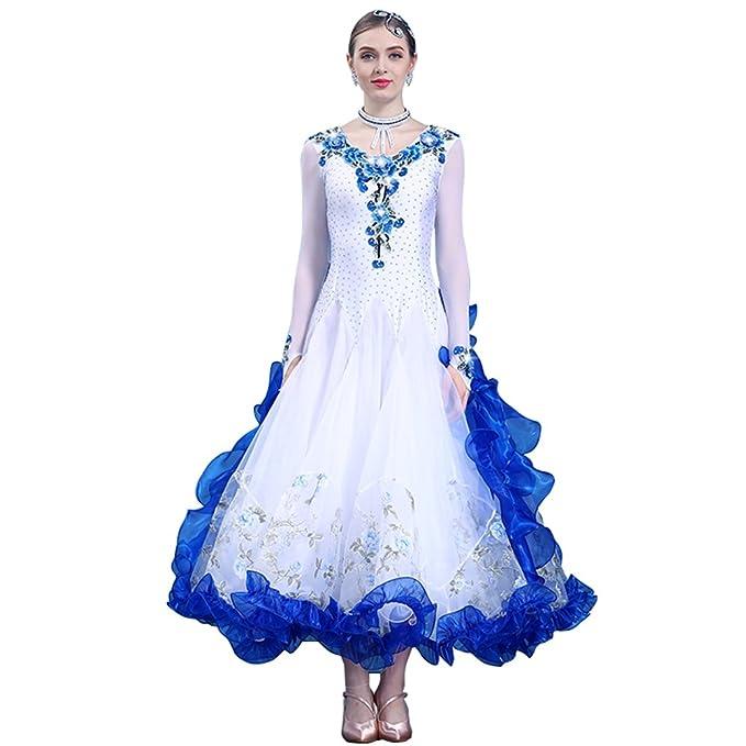 NAKOKOU Women\'s Ballroom Dance Competition Dresses Plus Size Ballroom Dance  Dresses