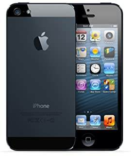 Amazon apple iphone 5 unlocked cellphone 16gb black cell apple iphone 5 16gb unlocked cellphone black reheart Choice Image