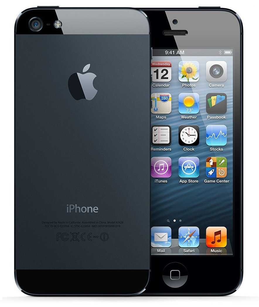 7feedad9a Amazon.com  Apple iPhone 5 16gb Unlocked Cellphone - Black  Cell Phones    Accessories