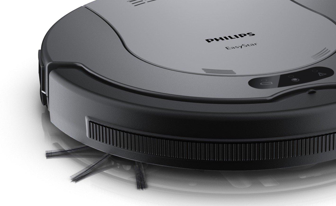 Philips FC8802/01 - Robot aspirador con sistema de limpieza de 2 fases para capturar la suciedad y el polvo, funcionamiento con 1 botón: Amazon.es: Hogar