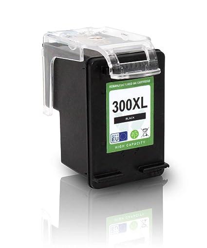 Mipuu cartucho de tinta equivalente a HP 300 XXL, color (01 ...