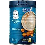 嘉宝 Gerber 胡萝卜1段 辅食添加期6个月较大婴儿营养米粉 225g 罐装 (新老包装随机发货)