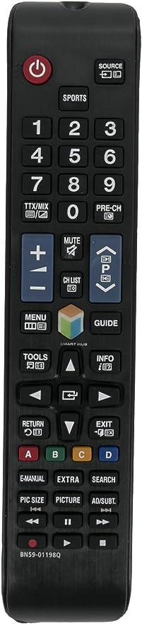 ALLIMITY BN59-01198Q Control Remoto reemplazado por Samsung TV UE32J5550 UE32J6250 UE32J6350 UE40J6250 UE40J6350 UE40JU6400 UE32J5500 UE32J5502 UE32J5505 UE32J6270 UE32J6275 UE32J6300: Amazon.es: Electrónica