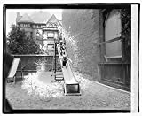 Vintography 16 x 20 Reprinted Old Photo Montessori school 1921 National Photo Co 64a
